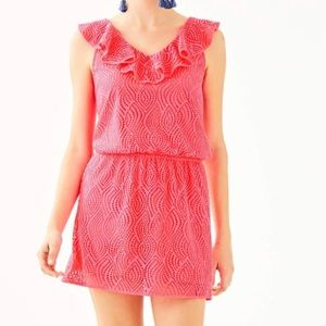 NWT Lilly Pulitzer Alessa Romper Pink Size Small